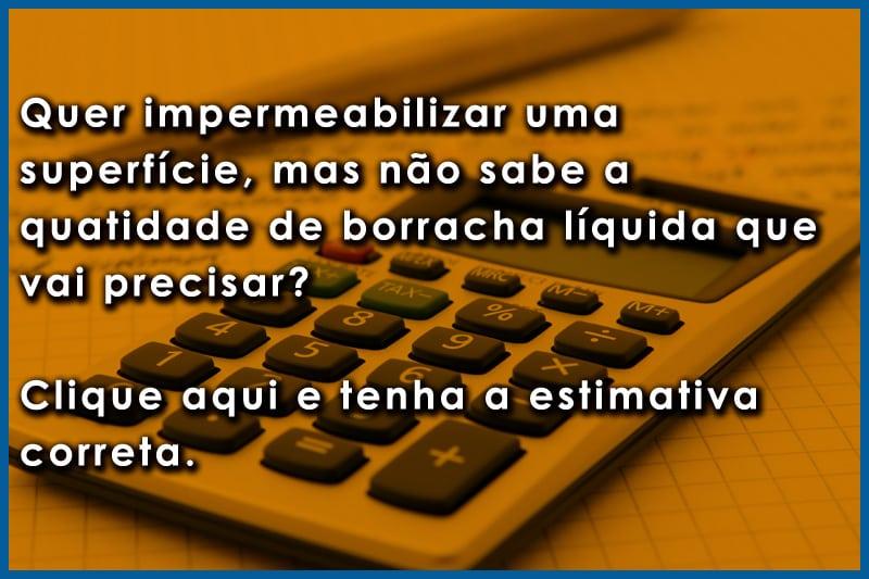 calculadora borracha líquida